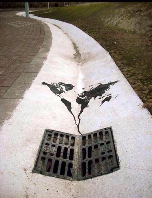 The World is going to He.., Down the Drain