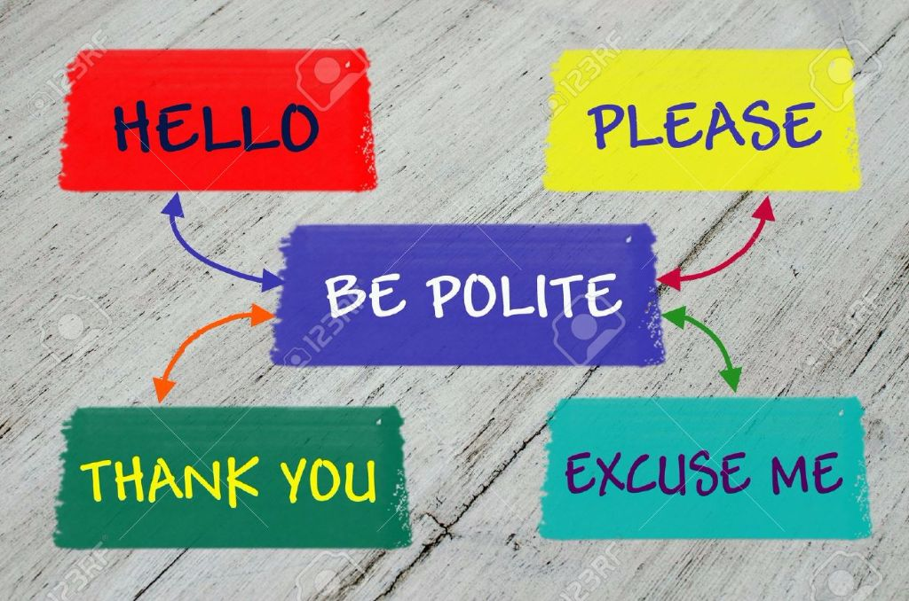 It's Okay to be Polite