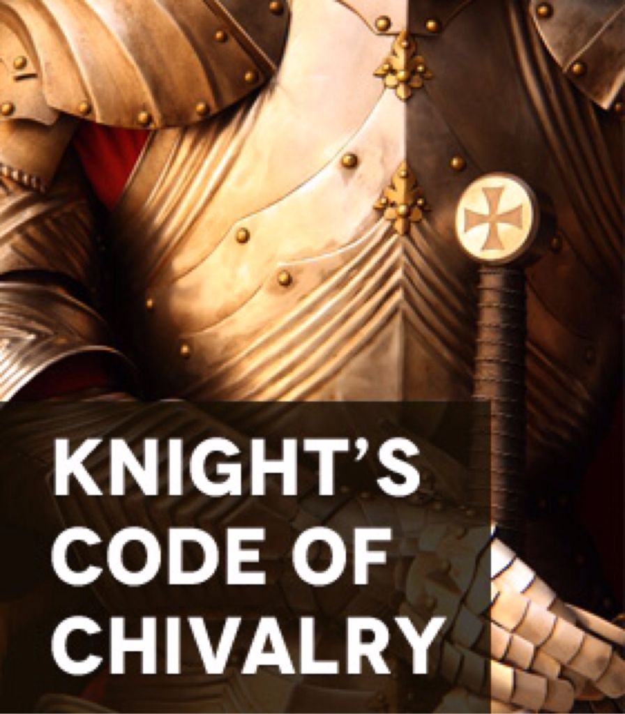 the code of chivalry A code of chivalry is documented in 'the song of roland' in the middle ages knights period of william the conqueror who ruled england from 1066 the code has since been described as charlemagne's code of chivalry.