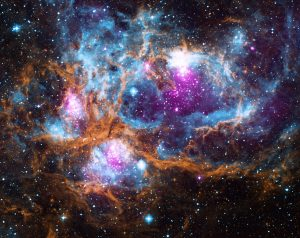 NASA's Cosmic 'Winter' Wonderland; Chandra X-ray Observatory Center